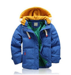 Wholesale Coat Feathers For Kids - Children Jackets For Boys Girls Winter White Duck Down Jacket Coats Kids Hooded Parkas Child Coat free shipping
