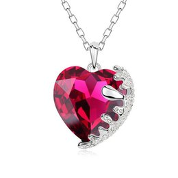 Wholesale genuine swarovski jewelry - Thousands of colors using genuine Swarovski Elements crystal necklace jewelry items guru sweetheart jewelry factory direct-colours
