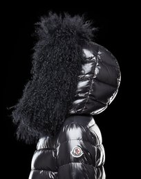 Wholesale Goose Parka Women - 2017 France Luxury New Women Winter Coat Fashion 90% White goose Down Jacket Ultralight Portable Slim Down Coat Female Winter Jackets Parkas