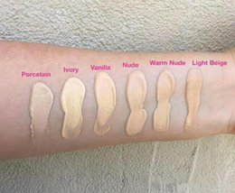 Wholesale Foundation Coverage - 2017 Makeup Born This Way COVERAGE Foundation Liquid 6 color 30ML DHL Free shipping+GIFT