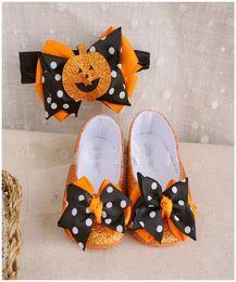 2019 мокасины повседневная обувь детская Девочки детская обувь хэллоуин повязка на голову обувь костюм весна осень свободного покроя детская тыква малыша детские мокасины обувь дешево мокасины повседневная обувь детская
