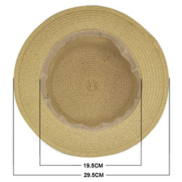 Wholesale Womens Foldable Sun Hats - Wholesale- NEW Sweet Womens Ladies Summer Beach Sun Visor Bowknot Floppy Foldable Straw Hat