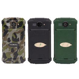 Wholesale Wcdma China Phones - Goophone V9+ smartphone MTK6572 Dual Core 4.5inch Android 4.4 IP68 Dual-core 512M 4G Waterproof Shockproof WCDMA 3G china phones