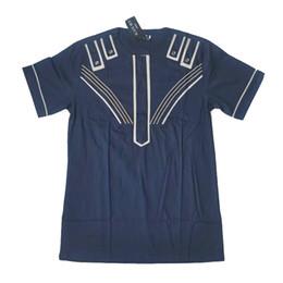 Wholesale Ethnic Print Shirt - BLACK MEN TURKEY Dashiki 2017 New Fashion Men shirt Short Sleeve African Clothing Cotton Printed shirt Ethnic Clothing