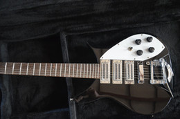 Wholesale Electric Guitar Ric - wholesale RIC custom guitar 6 STRING electric guitar Short scale length with bigs by bridges color can custom triple humbacker pickups