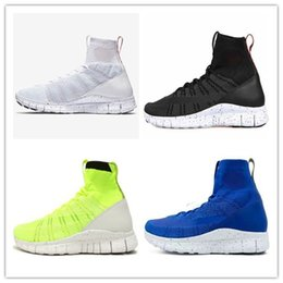 Wholesale Blue Green Obsidian - 2017 Free Mercurial Superfly SP Dark Obsidian HTM Volt 5.0 in fly line help Black Men Running Shoes Boots Men Sneakers size Eur 36-45