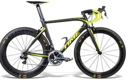 Wholesale Road Bike Carbon Ultegra - Yellow Time Skylon Full Carbon Road Complete Bike Bicycle With Ultegra R8000 Groupset For Sale 88mm carbon wheelset