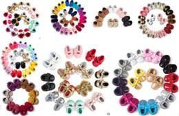 (300 стилей для выбора)Оптовая новые Детская обувь Мода новорожденных обувь бахрома дизайн Детская обувь детские мягкие искусственная кожа кисточкой мокасины от