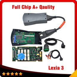 Wholesale Diagbox Citroen - 2016 Lexia3 Full Chip Firmware Serial No. 921815C  Lexia3 V48 PP2000 V25 For Citroen Peugeot With Newest Diagbox free shipping