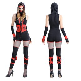 Wholesale Ninja Party - The new Japanese bushido uniforms role-playing game ninja clothing Halloween party stage performance clothing
