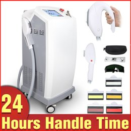 Wholesale Hair Products Acne - Newest Product SHR IPL E-light Painfree Body Hair Removal Bipolar RF Radio Frequency Skin Rejuvenation Acne Treatment Spa Beauty Machine