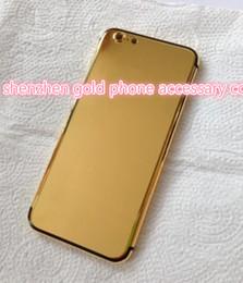 24K 24ct Or réel Dubai Placage Logement Couverture Peau Porte Batterie pour iPhone 7 7+ De Luxe Édition Limitée 24Kt D'or pour iphone7 ? partir de fabricateur