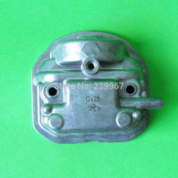 Wholesale Power Tool Covers - Cylinder head cover for Honda GX25 4 stroke engine lawn mower free shipping replacement part