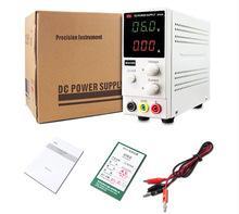 Wholesale Variable Dc Power - Wholesale-220V 110v 30v5a MCH-K305D Mini Switching Regulated Adjustable DC Power Supply SMPS Single Channel 30V 5A Variable MCH K305D