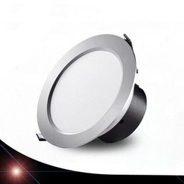 Wholesale Wholesale Kitchen Hats - Super bright Ulra-thin straw hat integration led downlight 3-18w AC85-265V SMD5730 LED Spot light led ceiling lamp hotel restuarent light