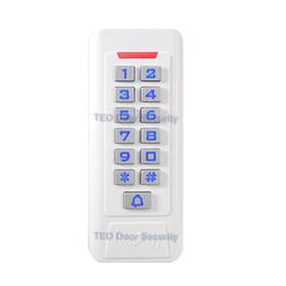 cartes de programmation Promotion 7 Mode de fonctionnement Haute Qualité Boîtier En Métal Lecteur RFID Clavier Clavier Verrouillage Contrôle de Contrôle D'accès Contrôleur WG26 Anti-altération Autonome pour Deux Portes