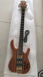 Wholesale Quilted Maple Top Guitar - 2017 new arrival S logo ken smith bass 4 string bass 4 strings Ken Smith quilted maple top electric bass guitar free shipping stock shipment