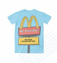 Wholesale Free Custom T Shirts - Real American USA Size FREE Mixtape with every meal 3D Sublimation print custom made T-Shirt Plus size