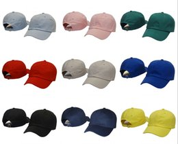 Wholesale Green Tea Men - 2018 new Casquette Blank plain strapback cap Baseball hat Men Women Travis Scotts Hats cap Black Golf KERMIT tea hat