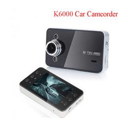 Wholesale Motion Dashboard - K6000 Car DVRs 1080P 2.4 Inch Full HD Night Recorder Dashboard Vision Veicular Camera dashcam Carcam video Registrator Car Dvr K6000