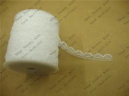 Wholesale Diy Accessories Lace - Hot Sale 100 yards  lot 12MM width white Gorgeous Cheap Lace Trim Ribbon DIY Garment Accessories DIY Lace L701 M64406