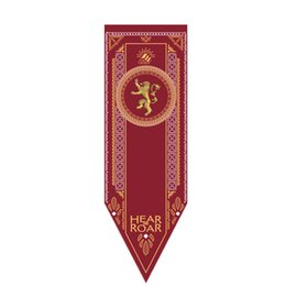 Wholesale Cm Fire - Game Of Thrones Banner Winter Coming Hear Me Roar Fire Bloon Flag Foldable Hanging Flags Banners Black 25ym B R