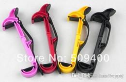 Wholesale Ipad Shelf - Good price NEW Car Steering wheel phone Universal Mount Holder Handset shelf stand Mobile dropping 0426#