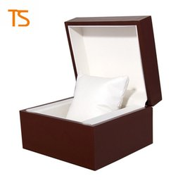 Wholesale Wholesale Wood Display Cases - Factory wholesale Brand packaging design custom-made Logo case Gift Jewelry box Bracelet Bangle Display watch box Storage Case Pillow Spot