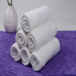 Wholesale Bar Towels - 1PC Soft 100% Cotton 30*60cm Hotel Bath Towel Washcloths Hand Towels E00133 BAR