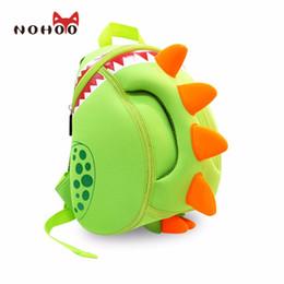 Wholesale Backpack Old School - NOHOO Baby Kid's School Bags Waterproof Dinosaur Neoprene Children School Bags Boys Girls 3D Cartoon Bags for 2-6 Years Old