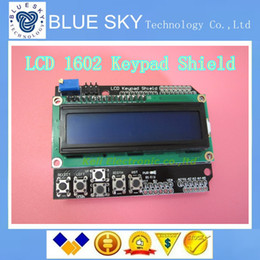 Wholesale new LCD Keypad Shield of the LCD1602 LCD1602A V2 character LCD input and output expansion board