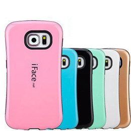 Wholesale Cover Iface Galaxy S3 - iface Case For iPhone6 6s Plus Galaxy S6 edge   S7   S7edge S3 S4 S5 Note3 4 5 PC Hard Cases Silicone Covers