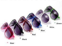 Wholesale Kids Sunglasses Boys - Summer Kids' Sunblock Wholesale Fashion children sunglasses UV protection sunglasses glasses baby boys and girls 454