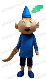 Wholesale Mascot Elf - AM0467 Ben Elf Mascot costume Cartoon mascot party costumes EVA foam mascot fur mascot advertising