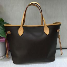 2019 riciclare la confezione regalo Nuova qualità di modo con le donne borse a tracolla Grande tote shopping bag tote satchel Borsa retrò (N41357) 3 colori 2 Dimensione pick 40996