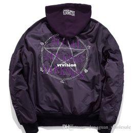 Wholesale U S Jacket - oversize jacket men women hoodies hip hop skateboard kanye west y e e zy France jacket vetements s u p re mo hoodies jacket