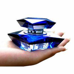 Wholesale Order Perfume Bottles - 1 X Elegant K9 Crystal Car Perfume Seat Auto Perfume Bottle Base Set Without Perfume order<$18no track