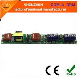 Wholesale T8 18w Led Driver Wholesale - AC110V 50 60Hz 420ma DC20-40V 6-12P led tube 18w triac Dimmable T5 T8 T10 LED tube Driver tube Power Supply Lighting Transformers Electronic