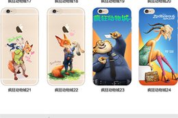 Wholesale Despicable Silicon - TPU Silicon Cover Despicable Zootopia Case For iPhone 5 5S 6 6S 6S Plus Soft Clear Fundas Cover Coque Capa Para Nick Wilde