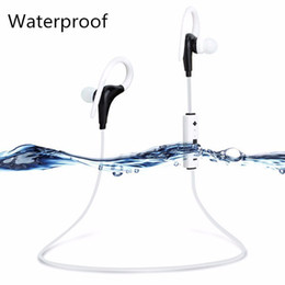 Wholesale Lg Hands Free Headset - Sports Bluetooth Earphone Mini V4.0 Wireless Crack Headphone Earbuds Hand Free Headset Universal For Samsung iPhone 7 Xiaomi LG