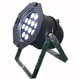 Caso de lata de par online-Envío gratis 6 luces lightmaXX COMPLETE PAR 64 NEGRO 12x18W RGBAW + UV 6in1 Par latas con PWM con flight case