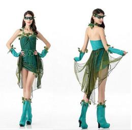 Wholesale Oz Costumes - 2017 Sex women female Wizard of Oz Halloween Costumes For Women Elf Princess Dress Elves Flower Fairy Costume Cosplay