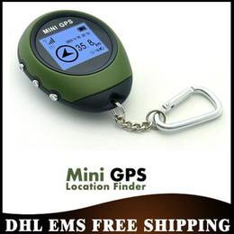Gratuit DHL EMS 5pcs / lot Ordinateur de poche Keychain Mini GPS PG03 Navigation USB Rechargeable pour le sport de plein air Voyage en gros ? partir de fabricateur