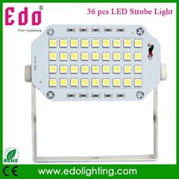Wholesale Led Festa - Mini 36pcs LED Stage Light DJ Strobe Light Flash Light Club Party festa Disco Stroboscope Bulb 220V White Color Free Shipping