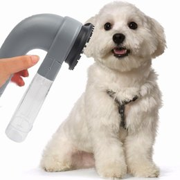 Wholesale Electric Pet Dog Hair Clipper - Shed Pal Electric Pet Vac Hair Remover Dog Supply Cat Grooming Vacuum Clean Fur