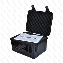 Wholesale Outdoor Vinyl - The newest 274*277*155mm waterproof shockproof ABS box Airtight sealed case outdoor equipment survive portable container carry storage
