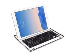 Wholesale Pro Choose - Bluetooth Keyboard Ultra Slim aluminum Holding Pad For Ipad Pro 12.9inch Black  White 2 colors choose