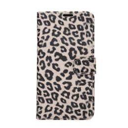 Wholesale Galaxy Note Cases Leopard - PU PC Leopard Case for iphone 7 plus with Card Slot Holder Flip Leather Wallet Cover for Samsung GALAXY Note 7 100 PCS UP