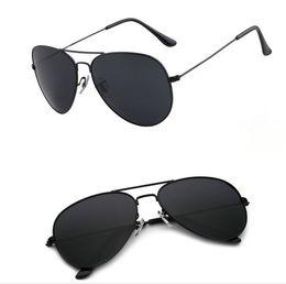 Wholesale Glass Lens Sunglasses Cheap - Good Quality Men's Women's Alloy Frame Glass Lens Sunglasses Man Woman Sun glasses 19 colors available Cheap
