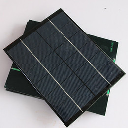 Wholesale 6v Epoxy Solar Panel - Wholesale Xionel 5.2w 6v Mini Solar Panel Module Solar System Epoxy Solar Cell Charger DIY 210x165mm